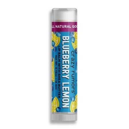Naturalny balsam do ust Crazy Rumors – Blueberry Lemon